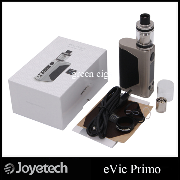 Original Joyetech eVic Primo UNIMAX 25 Starter Kit 200W eVic Primo Box MOD 5ml UNIMAX 25 atomizer Powered by Dual 18650 Battery<br><br>Aliexpress