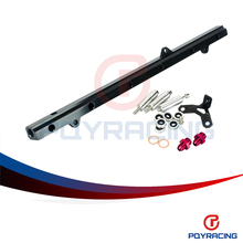 PQY RACING- NEW FUEL RIAL FOR TOYOTA SUPRA ARISTO 2JZ TURBO JZA80 UPGRADE 92- 02 RACING FUEL RAIL KIT PQY5433BK
