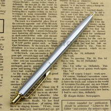 Hot New Classic BAOER 37 stainless steel Push Ball Point Pen High Quality
