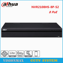 Buy Dahua 8CH CCTV NVR 8PoE NVR2108HS-8P-S2 6Mp Onvif video recorder HDMI HDD 2USB Interface English Version Security System for $164.43 in AliExpress store