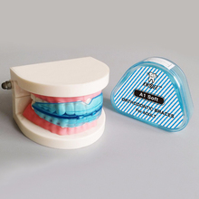 KWOEE 1Pcs Dental Tooth Orthodontic Appliance Trainer Alignment Braces Mouthpieces Dental Orthotics Teeth Care(China)