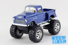 Classic 1:32 Chevrolet 1955 Big Foot Pick-up Off Road Truck Model Cars Alloy Diecast Model Toy Car(China)