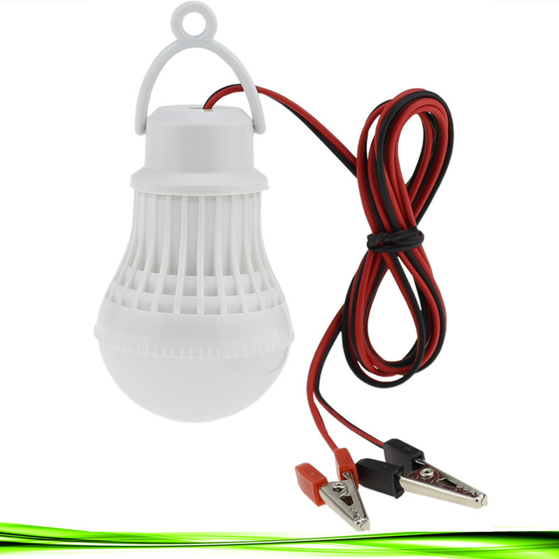 High Power 12V Led Bulb Portable Led Lamp Outdoor Camp Tent Night Fishing Emergency street vendor stall Hanging Light 3/5/7/9W(China)