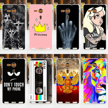 CROWNPRO sFOR SONY Xperia SP Case Cover M35h M35C C5303 C5302 sFOR Sony SP Case Phone Back Protector Case FOR SONY Xperia SP