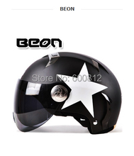 2016 New BEON fashion personality motorcycle electric vehicle safety helmet summer half Face helmet Four Seasons General B-102