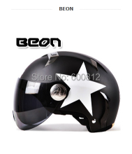 2016 New BEON fashion personality motorcycle electric vehicle safety helmet summer half Face helmet Four Seasons General B-102(China)
