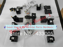 Whole set Co2 Laser Cutter Parts  Parts Hardware Transmission Laser head Mechanical Components