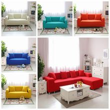 Cushions Case for sofa universal l shaped Slipcover solid case Sofa corner cover couch stretch elastic sofa furniture cover