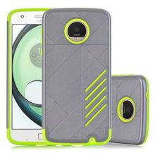 For Motorola Moto Z Play Armor Case 2 in 1 Back Heavy Anti-knock Shell Cover Rugged Hybrid Hollow Phone Case Z Play Droid XT1635