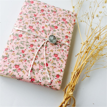 Handmade Retro Travel Journey Daily Memos Creative Cloth Cover Notebook Partysu Floral Series Soft Copybook Blank Inside Page WZ