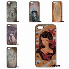 For iPod Touch iPhone 4 4S 5 5S 5C SE 6 6S 7 Plus Samung Galaxy A3 A5 J3 J5 J7 2016 2017 Cute Audrey Kawasaki Art Case Cover(China)