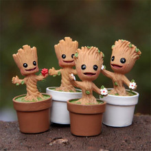 2017 new,Guardians of the Galaxy Anime PVC Figure Children toys, Briquedos Birthday Gift,Grout figure toy for children