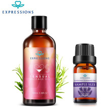 Buy 10ml Australia 100% Lavender Essential Oils Aromatherapy Diffusers Body Massage Oil Slimming Sexual Essential Oils 100ml