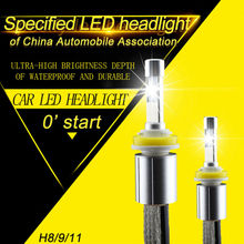 P70 XHP-70 H8 H9 H11 LED Headlight bulbs 13200LM 110W Car Headlights 5000K 6000K Pure White Ultra Bright Auto Fog light Lamp Kit(China)
