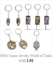 Silber World Of Tanks High Explosive Shell Keychain