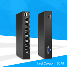 Mini PC with 6x 1000Mbps Gigabit LAN Intel 82583V NIC Multiple Ethernet Ports Serial COM VGA USB 3.0 Soft Router IPC Pfsense(China)