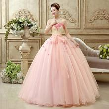 Doparty baratos quinceanera dresses 2018 Pink ball gowns for girls vestido  de 15 anos de debutante sweet 16 wirh flowers xs2 854d115c33e1