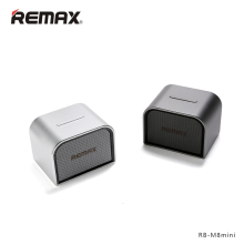 REMAX RB-M8 Mini Portable Bluetooth4.0 Speakers Aluminum Wireless Hand Free MIC Boombox Subwoofer USB AUX Ports Loudspeaker