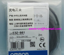 New and original  E3Z-B61, E3Z-B62   OMRON  Photoelectric switch   Photoelectric sensor    2M   12-24VDC