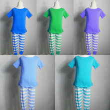 spring boutique cotton clothing sets easter outfit wholesale baby childrens clothing Christmas Striped Pajamas