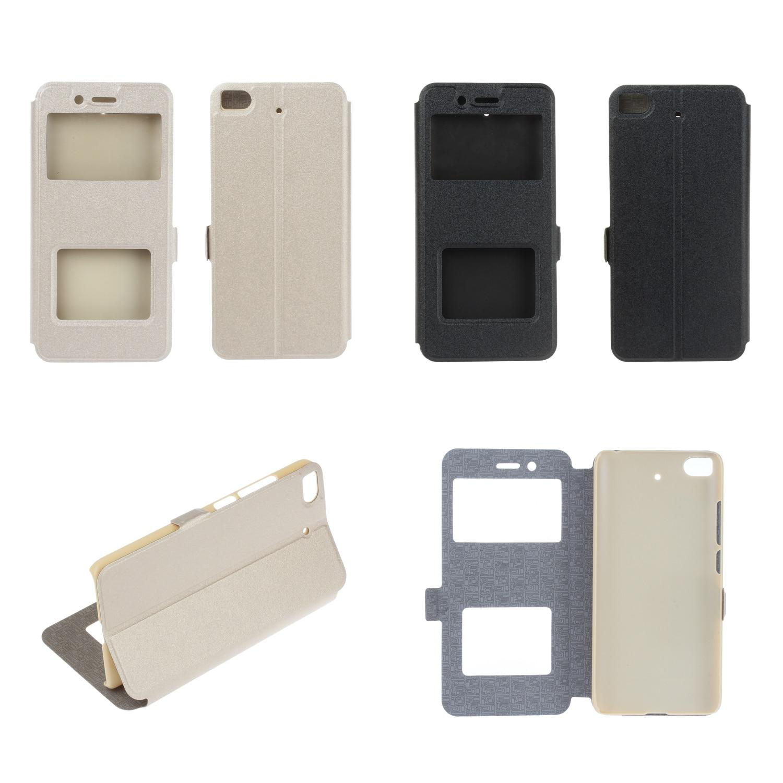 Untuk xiaomi mi 5 s 5 s Edisi Premium penutup ponsel Warna Solid standar windows