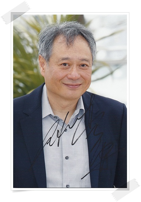 Ang Lee  autographed  signed original photo 6 inches new chinese freeshipping 012017  <br>