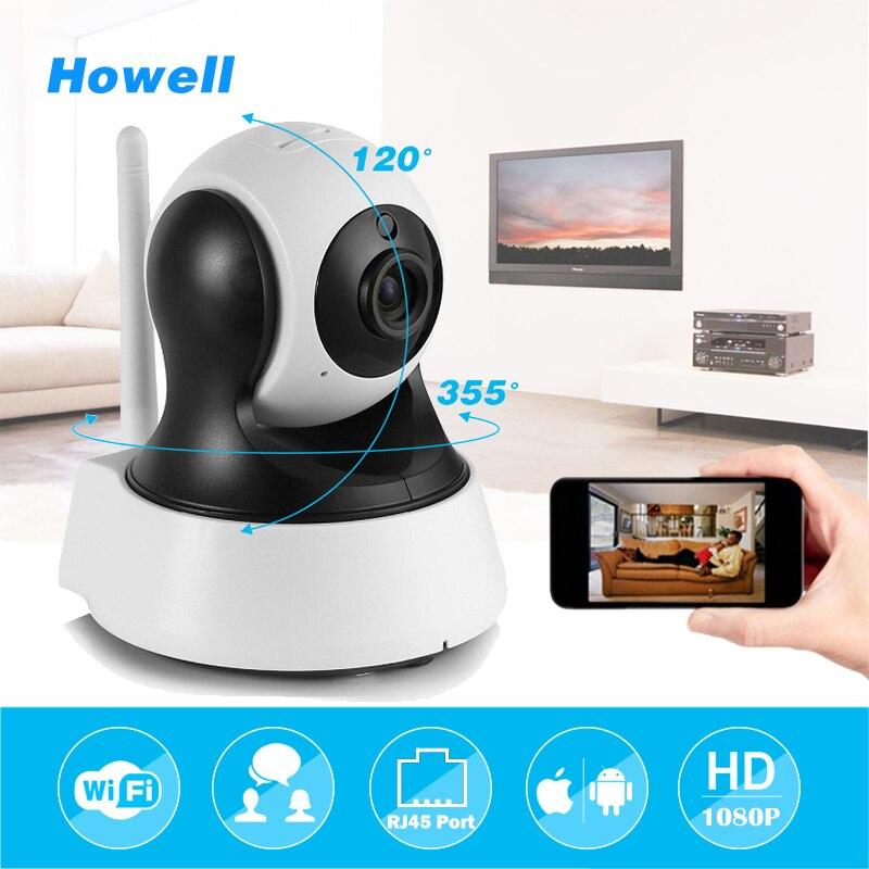 Howell Surveillance Camera HD 1080P IP Home Security Camera CCTV Wifi Mini Camera Baby Monitor Fake Camera IP Cam Two ways Audio<br>
