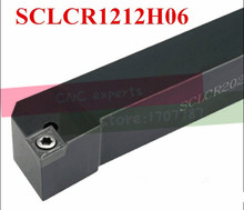 SCLCR1212H06 12*12mm Metal Lathe Cutting Tools Lathe Machine CNC Turning Tools External Turning Tool Holder S-Type SCLCR/L