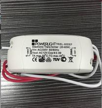 1Pcs AC 230V to 12V short-circuit protection Halogen Lamp Electronic Transformer Power Supply LED Driver Newest