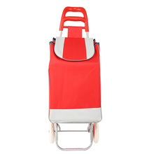 Portable folding luggage cart to buy bag cart elderly Household Shopping Cart Trolley climbing portable