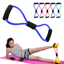 New fitness 8 chest crossfit equipment Resistance Bands Rope expander tension device yoga Tube body bands elastic exerciser