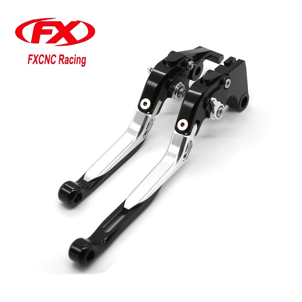 FX CNC Motorcycle Folding Extendable Brake Clutch Lever For Yamaha YZF R1 R6 R6S 2005 2006 2007 Motorbike Brake Lever<br>