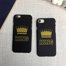 SZYHOME Phone Cases for IPhone 6 6s 7 Plus Case KING QUEEN Letter Trend for IPhone 5 5S SE Plus Discounted Case Phone Cover 1