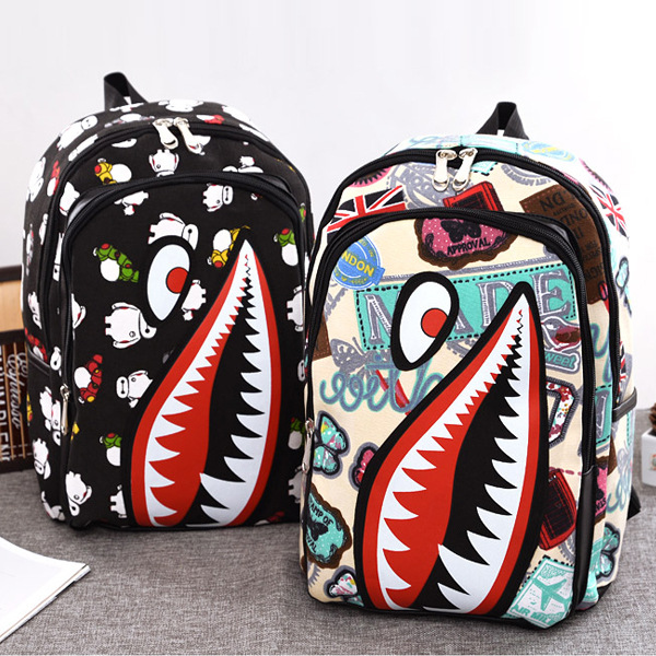 2017 Hot Sale Children Fashion Shark Backpack Cute Backpacks Boys Travel Bags cartoon School Bag for teenagers HIGH QUALITY<br><br>Aliexpress