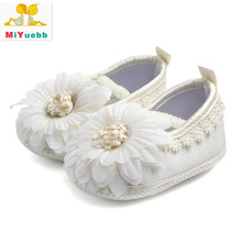 New 1 Pair Children Satin Sticker Casual Shoes Anti-skid Baby Soft Bottom Shoes 3 Size Baby Prewalking Breathable Shoe(China)