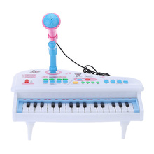 Multifunctional Mini Electronic 31 Keys Electone Piano Toy with Microphone Child Kids Musical Toys Electrical Keyboard Electone