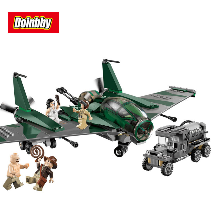 Lepin 31002 Indiana Jones Fight On The Flying Wing Building Blocks Bricks Toys Gift Brinquedos Educational Toy Compatible 7683<br>