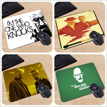 Breaking Bad Walter White I'm The One Who Knocks Personalized Mouse Pad Luxury Anti-slip Computer Mouse Gaming Pad Best Gift