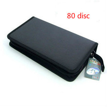 NEW Portable 80 Disc holder organizer Large Capacity DVD CD Case for Car Media Storage CD Bag -20