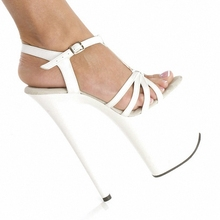 Ultra fine with waterproof 20 cm heels sandals Suede south Korean new shoe manufacturers selling fashion show