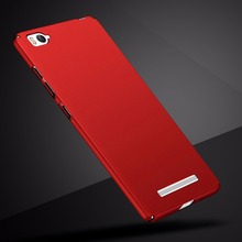 "Luxury Fashion Case For  Xiaomi Mi4c Mi 4c Nice Hard PC Plain Back Cover Case For Xiaomi Mi4c/M4I/Mi4I Prime Pro 5.0"" Phone Bag"