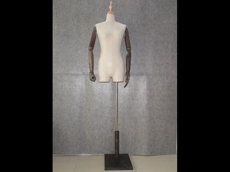 EMW-FY025A wrapped linen mannequin_01