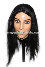 Brand New Realistic latex Adult Female mask full head Deluxe Female beauty Sex Mask