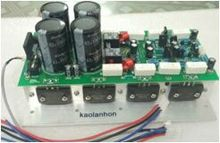500W A1943/C5200 2.0 dual channel high fidelity Sanken tube audio amplifier board(China)