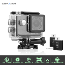 DBPOWER Q8 4K Action Camera 2.0 inch with Wifi HD 4K/30FPS Go Waterproof Underwater Outdoor Mini Cam Pro Bike Video Sport DVR