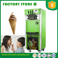 10 discount Free shipping by seaCFR Top sale stainless steel soft serve ice cream vending machine coin price bql 818 commercial