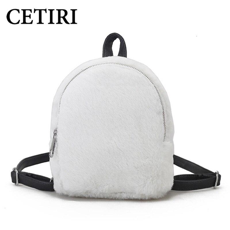 CETIRI Mini Backpack Small Children Backpacks For Girls School Backpack Bagpack Cute little back pack White backpacks lady 2018<br>
