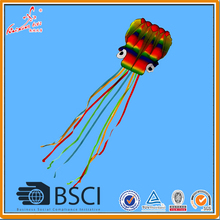 Free shipping Rainbow Octopus Kite from Weifang Kaixuan Kite