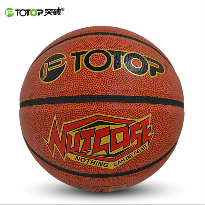 PTOTOP Professional Indoor Outdoor PVC Basketball Ball Non-Slip Men Women Training Basket Ball Equipment TP7109 Dropshipping(China (Mainland))