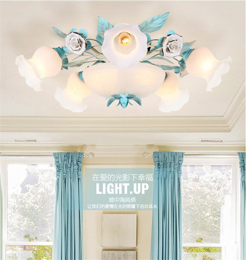 Ceramic ceiling light (3)